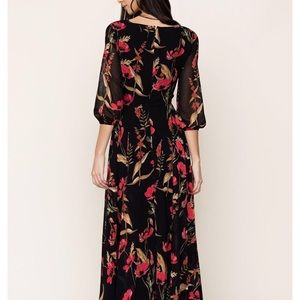 "Yumi Kim XS Woodstock Maxi Dress in ""Ruby Romance"""